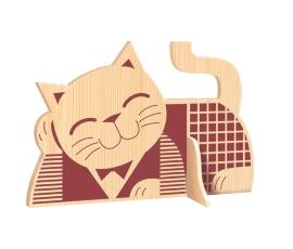 Рисунок для выпиливания лобзиком Кот