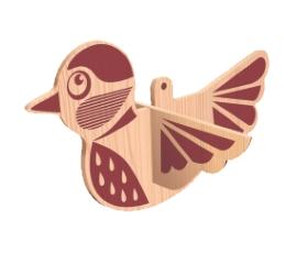 Рисунок для выпиливания лобзиком Птица