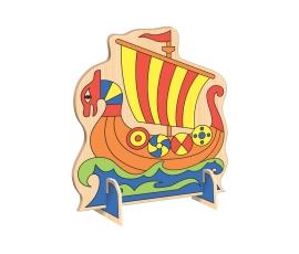 Рисунок для выпиливания лобзиком Корабль